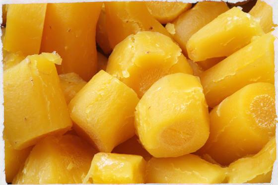 Batata baroa cozida: Informação Nutricional