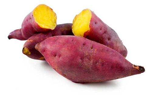 Batata doce refogada: Informação Nutricional