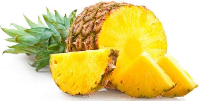Abacaxi para a inflamação