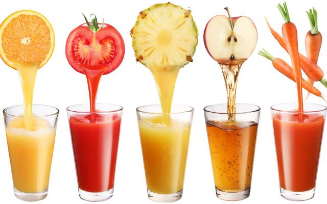 Suco para a inflamação