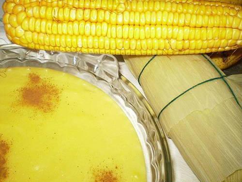 Mingau de milho: Informação Nutricional