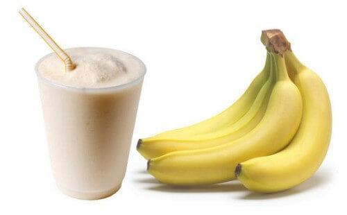 Receita Smoothie de banana e noz-moscada
