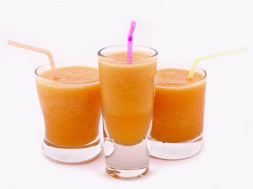 Receita de smoothie de melão e laranja