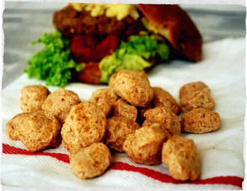 Carne de soja: Informação Nutricional