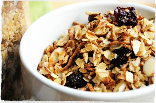 Granola: Informação Nutricional