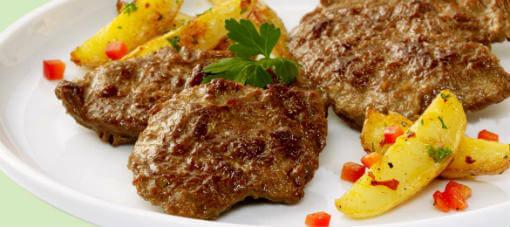 Bife vegetal: Informação Nutricional