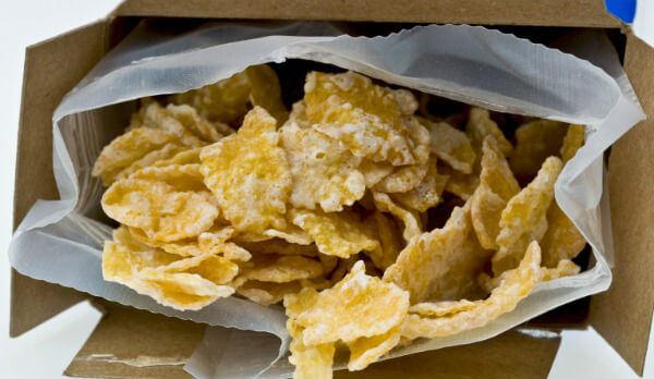 Sucrilhos de milho light: Informação Nutricional