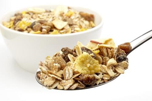 Flocos de cereais: Informação Nutricional
