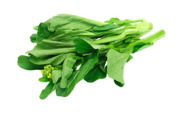 Mostarda planta cozida: Informação Nutricional