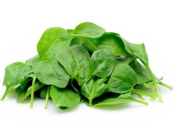 Espinafre cru: Informação Nutricional