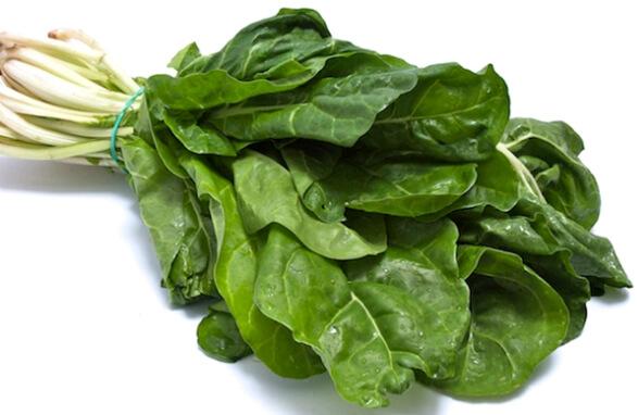 Acelga cozida: Informação nutricional