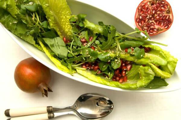 Radite ao vinagrete: Informação nutricional