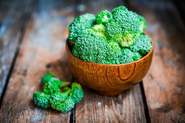 Brócolis ao vinagrete: Informação Nutricional