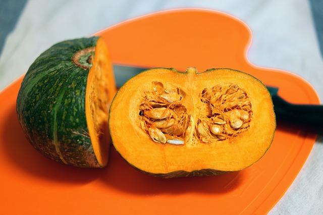 Abóbora Crua: Informação Nutricional