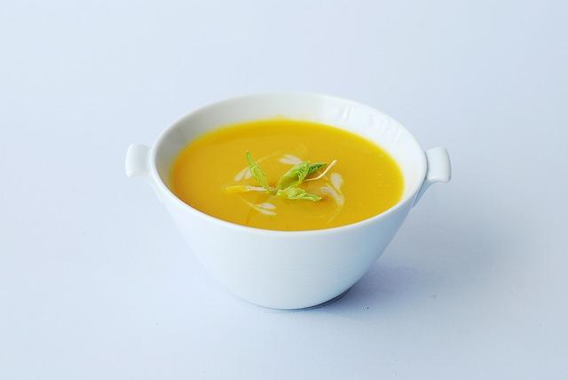 Sopa de Abóbora: Informação Nutricional