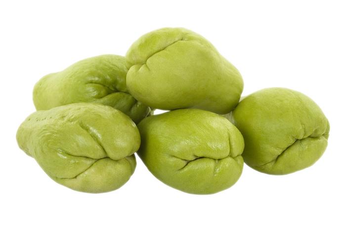 Chuchu Cozido: Informação Nutricional