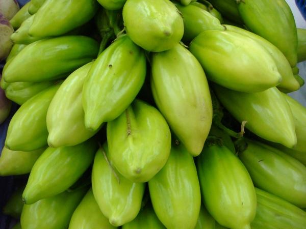 Jiló Frito: Informação Nutricional