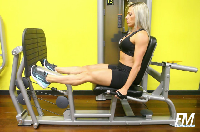 Panturrilha no Leg Press Assentado