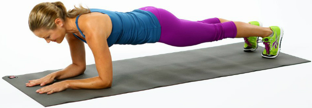 Elbow Plank (Prancha com cotovelos)