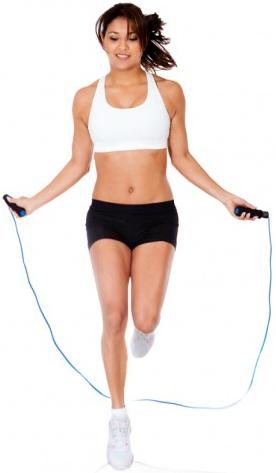 Jump Rope Ali Shuffle (Pulos com corda alternando os pés)