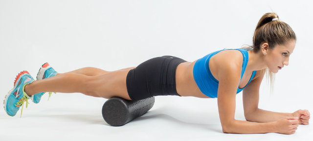 Quadríceps - Foam Roller