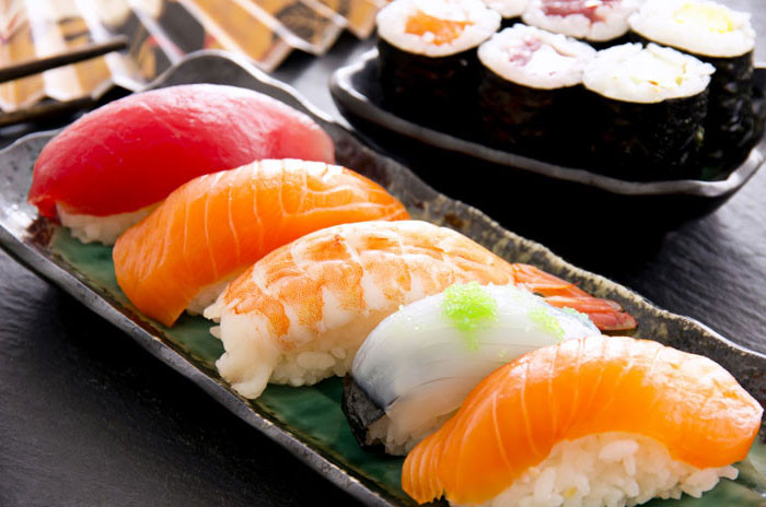 Sushi é saudável?