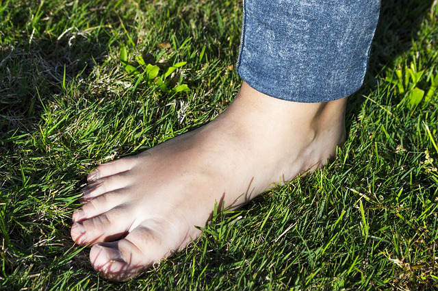 Como cuidar dos pés!