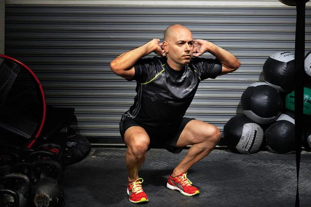 Agachamento Desafio Fitness