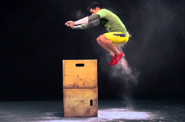 Box Jump Desafio Fitness