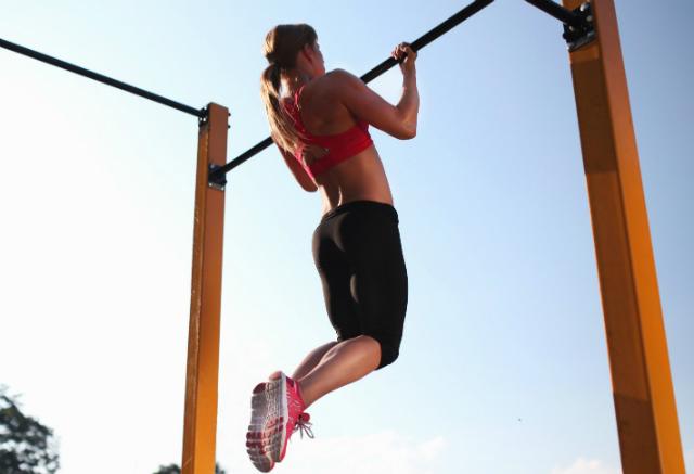 Pull-Ups Desafio Fitness