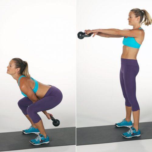Exercício kettlebell swing como fazer e quais músculos trabalha