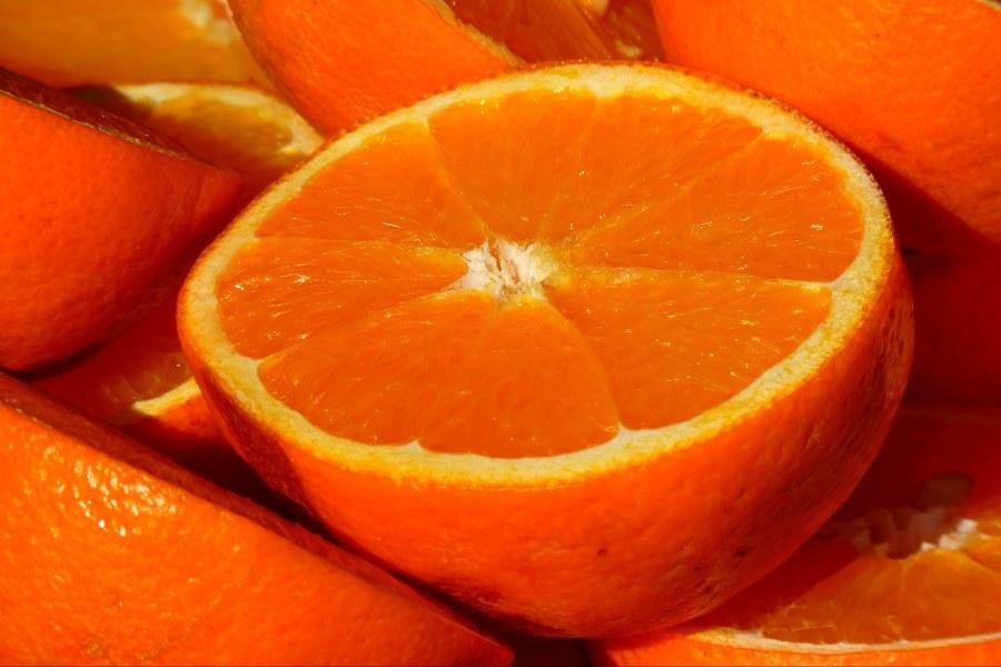 Bergamota informação nutricional