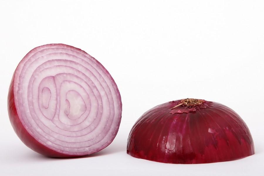 Cebola ao molho vermelho informação nutricional