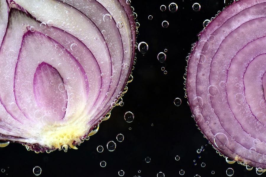 Cebola cozida informação nutricional