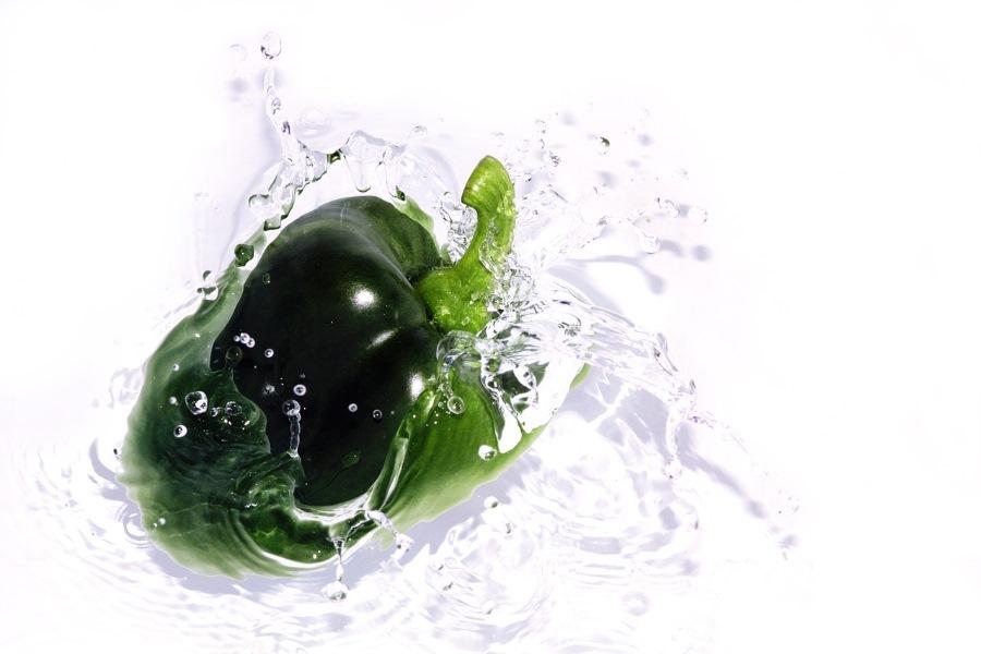 Pimentão orgânico informação nutricional