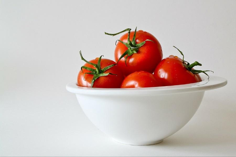 Tomate orgânico informação nutricional